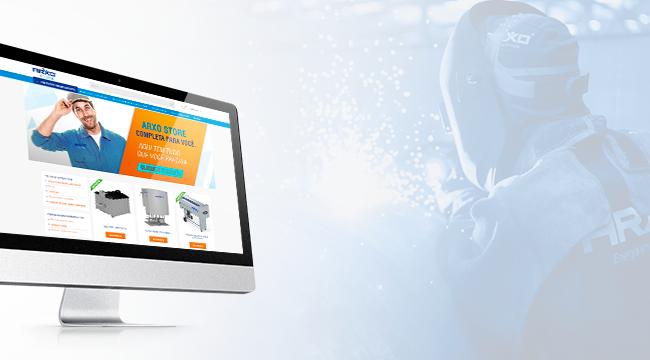 ARXOSTORE: Novo site e-commerce da ARXO traz navegação facilitada e segurança na hora da compra
