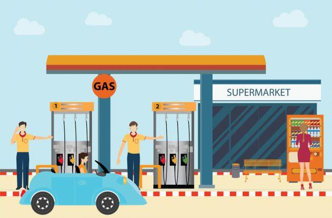 Entenda a captação de água da chuva para postos de combustível