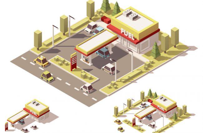 A tendência do posto de gasolina como espaço multifuncional