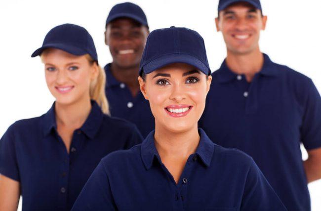 O papel do uniforme para o posto de combustível